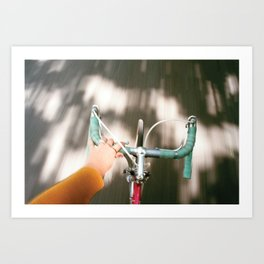 For a ride Art Print