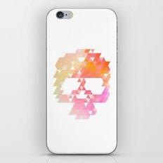 Skull Pink iPhone Skin