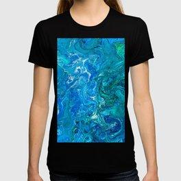 Elegant Crazy Lace Agate 2 - Blue Aqua T-shirt