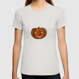 Jack-O-Lantern Illustration T-shirt