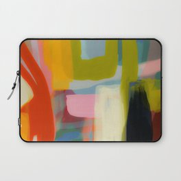 Color study 1 abstract art Laptop Sleeve