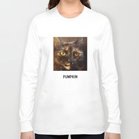 pumpkin Long Sleeve T-shirts featuring Pumpkin by RyanPatrick