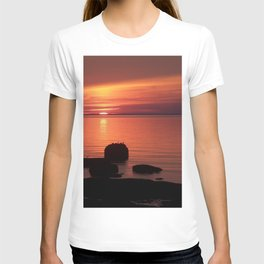 Peaceful Reflections of Nature at Dusk T-shirt