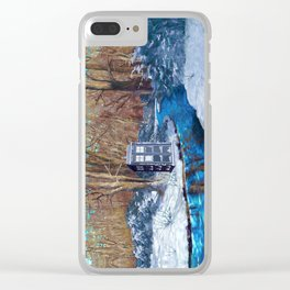 Frozen Tardis Doctor who iPhone 4 5 6 7 8, pillow case, mugs and tshirt Clear iPhone Case