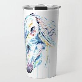 Arabian Horse Watercolor Travel Mug