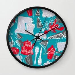 Vintage 1950's Kitchenalia Wall Clock