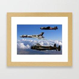 Avro Sisters Framed Art Print