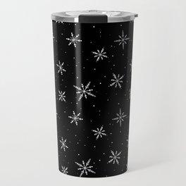 Nordic Snow - White Line Travel Mug