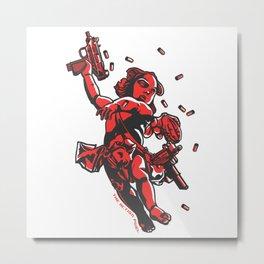 Cupid's Arms Metal Print