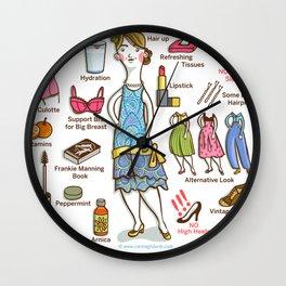 SWING SERIES: LINDY HOPPER (female) Wall Clock