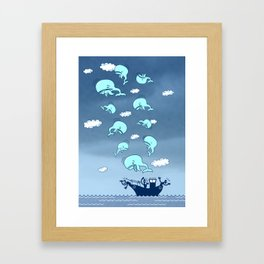 Where Have the Whales Gone? Framed Art Print