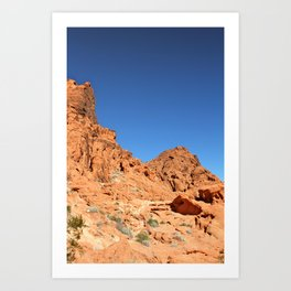Desert Hills Art Print