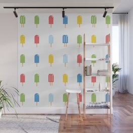 Popsicle Pattern - Bright #426 Wall Mural