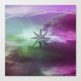 WIND ROSE II Canvas Print