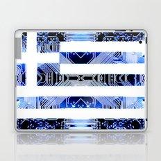 circuit board greece (Flag) Laptop & iPad Skin