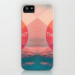 _TRUST THE PROCESS iPhone Case