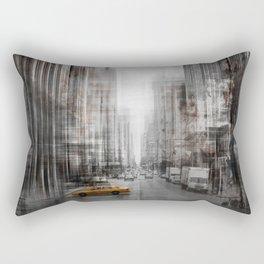 City-Art NYC 5th Avenue Rectangular Pillow