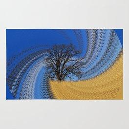 Prairie oak swirl Rug