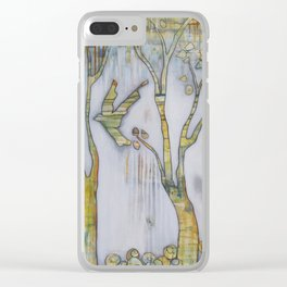 Be Still and All Will Rise Clear iPhone Case