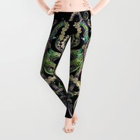shower Leggings featuring Octopsychedelia by TAOJB