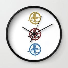 Mockingjay Wall Clock