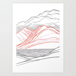 On Canada Hill Art Print