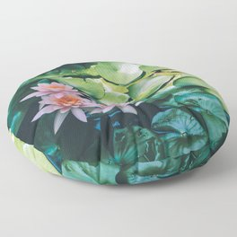 Beauty in the Shadow Floor Pillow