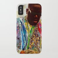 biggie iPhone & iPod Cases featuring Biggie by Katy Hirschfeld