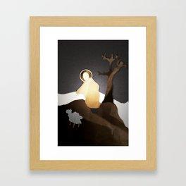 Berger Framed Art Print