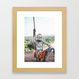 Karo Tribe IV Framed Art Print
