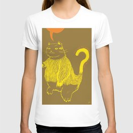 Trying to understand our cat T-shirt