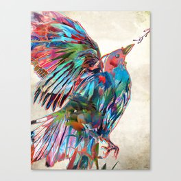 The Opening Canvas Print