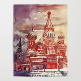 Moscow Poster