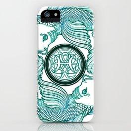 Pisces Circle  iPhone Case