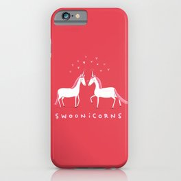 Swoonicorns iPhone Case