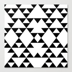 Tri-Tribe I Canvas Print