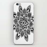 zentangle iPhone & iPod Skins featuring Zentangle by Cady Bogart