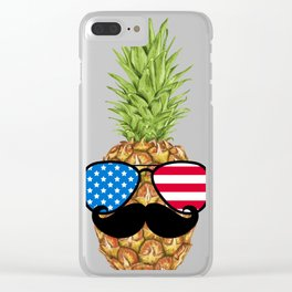 July Fourth Clear iPhone Case