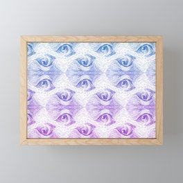 Staring Into Space Framed Mini Art Print