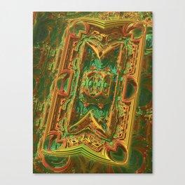 Pipeline Chaos Canvas Print