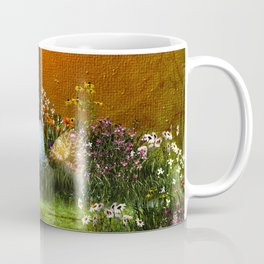 Easter eggs in the grass Coffee Mug