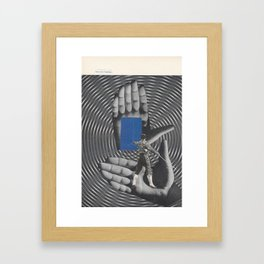 arcs de l'interior Framed Art Print