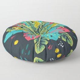 Tropical modern art Floor Pillow