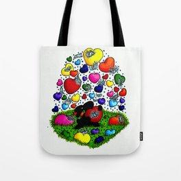 happy inspirations 6 choose love Tote Bag