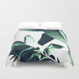 Ficus Elastica #26 #foliage #decor #art #society6 Duvet Cover