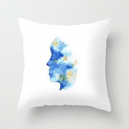 Ocean Mind Throw Pillow
