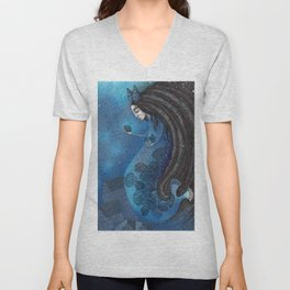 The Seal Woman Unisex V-Neck