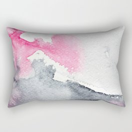 Diffusion || watercolor Rectangular Pillow
