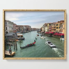 Grand Canal Serving Tray