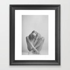 Photograph Nude Woman Framed Art Print